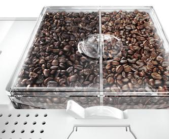 Mal mild, mal Espresso - zwei Bohnensorten in einem Vollautomaten