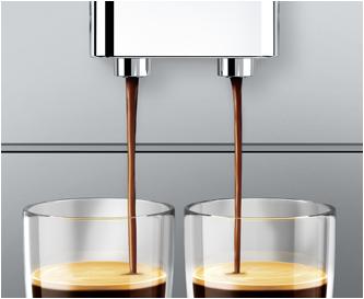 Höhenverstellbarer Kaffeeausflauf
